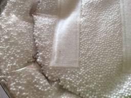Enchimento de bolinhas de isopor/capa com ziper