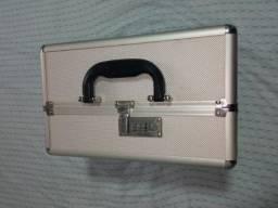 Linda maleta grande de maquiagem/jóias/bijuteria