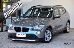 BMW X1 2.0 Sdrive AT Blindada Nível 3A, apenas 47 mil km originais impecável