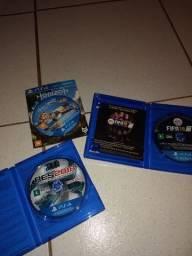Vendo jogos de PS4 semi novos sem aranhão