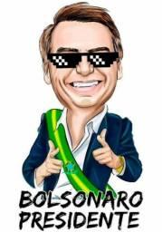 Produtos personalizados Bolsonaro, temos outros também incluindo caricaturas.