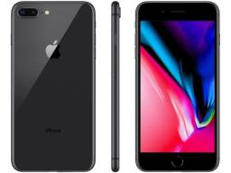 IPhone 8 Plus - 64gb - Black - Seminovo - Grande A - Vitrine