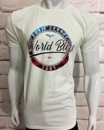 Título do anúncio: T-SHIRT IMPORTADA WORLD BLESS