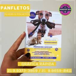 Panfletos, Flyers e Folhetos