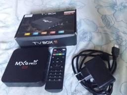 Vendo tv Box novo novo ainda muito top pegando tudo bem direitinho