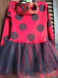 Vestido Ladybug- joaninha