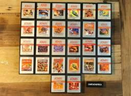 <br>Cartuchos Importados Silver Label para Atari 2600