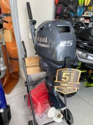 MP Yamaha F25 2021 partida elétrica