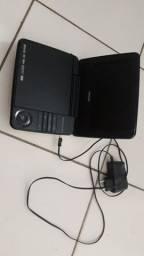 Dvd portátil barato funcionando normal