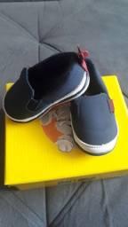 Sapato bebê menino Klin casual