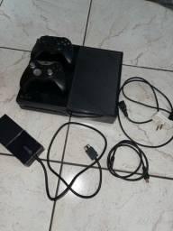 Xbox one, 500Gb, com dois controles