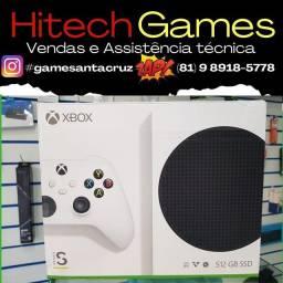 Microsoft Xbox Series S 512GB cor  branco
