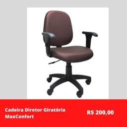 Cadeira Diretor Giratória MaxConfort
