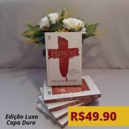 PROMOÇÃO Livro Heróis da Fé Luxo