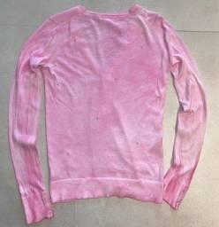 Casaco Gap Tie Dye Rosa - Tamanho Xs/pp