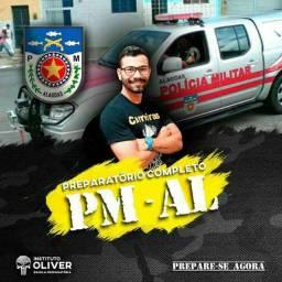 Preparatório completo para PM-AL