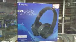 Fone Headset New Gold para Ps4