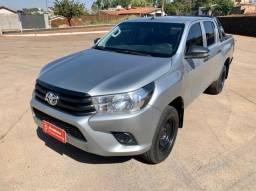 Toyota Hilux STD 2.8 Diesel 4x4 177cv 2018 IPVA 2021 Pg 98km