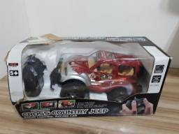 Brinquedos na caixa