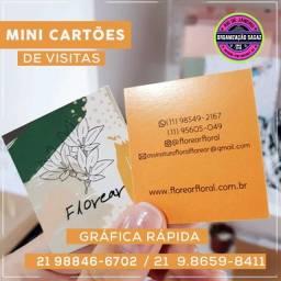 Mini Cartão de Visitas