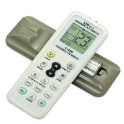 Controle Remoto Ar Condicionado 1000 Em 1 Split C/ Lanterna
