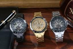 Relógios mecânicos várias cores