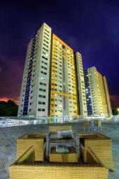 Ponta Negra Residencial Ilhas Gregas Condomínium Clube, ótimo apartamento com 1 suite