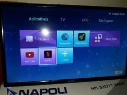 Tv Smart 32 R$ 990,00 ou 12 X 99,00 Com Garantia.na Caixa