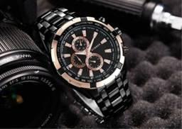 Relógio Curren Masculino Luxo Original