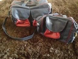 Lindo conjunto de bolsa para maternidade