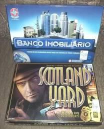 Dois Jogos - Banco Imobiliário e Scotland Yard