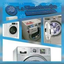 Lavadoras, Geladeira e secadoras