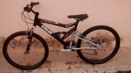 Bicicleta Caloi SK 21v full suspension aro 26