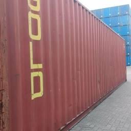 Container Marítimo Usado e Semi Novo 20 e 40 pés High Cube