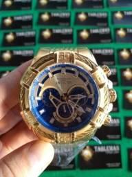 Promoção Invicta Bolt Tritnite Blue Gold