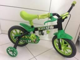 Vendo Bicicleta Aro 12 Black Menino