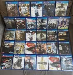 Jogos de PlayStation 4 semi novos (ps4)