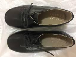 Sapato social infantil tamanho 26