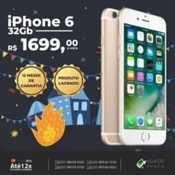P. iPhone 6 32Gb GOLD // LP Pronta Entrega