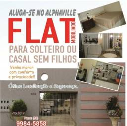 Flat Mobiliado para Solteiro(a) ou Casal s/ Filho *Próximo as Av R. Madeira e Imigrantes