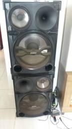 2 caixa de som da Sony