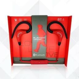 Headset Fone Sport Bluetooth Wireless Magena Bt-1 Cores