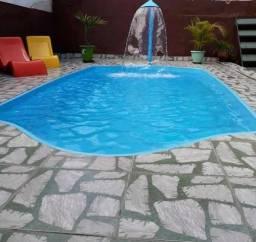 Sua piscina de fibra esta na Spaço Bh. Piscina 5.00 x 2.60 x 1.20