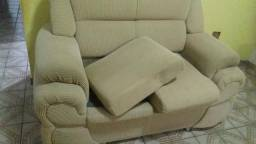 Sofá de 2 e 3 lugares( usado)