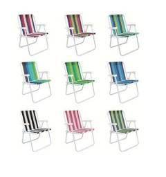 Cadeiras de Praia Diversos Modelos