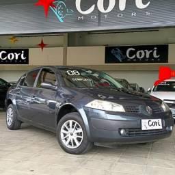 Renault megane sedan expression 1.6 16v(hi-flex) - 2008