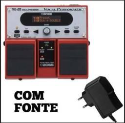 Vocal performer boss VE - 20 ,pedal de efeitos para voz
