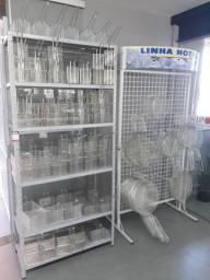 Cestos para fritadeiras Metalcubas, Multifritas, Venâncio e Tedesco