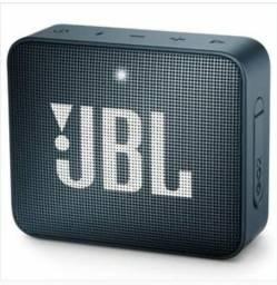 Caixa de Som Portátil Go 2 Black JBL com Bluetooth e à Prova d´Água