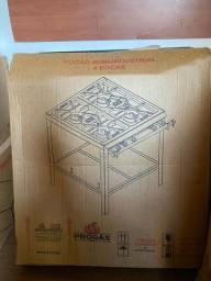 Fogão Industrial Progás PMS-400N - Novo - Na caixa